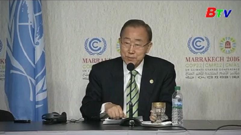 Các nhà lãnh đạo thế giới hối thúc Tổng thống đắc cử ủng hộ Hiệp định Paris