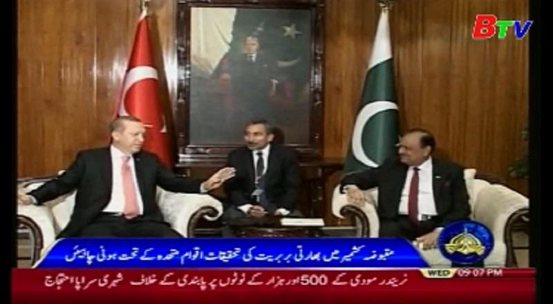 Thổ Nhĩ Kỳ, Pakistan tăng cường quan hệ hợp tác