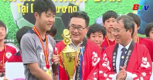 Giải bóng đá thiếu niên U13 Quốc tế Việt Nam - Nhật Bản kết thúc thành công tốt đẹp