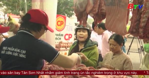 Bình Dương mở rộng điểm kinh doanh thịt sạch đầu tiên tại chợ Thủ Dầu Một