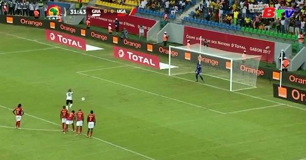 Bảng D Can Cúp 2017- Ghana 1-0 Uganda