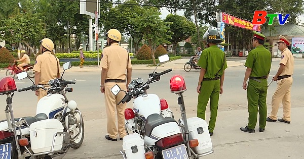 Tân Uyên tăng cường đảm bảo an toàn giao thông trước, trong và sau tết