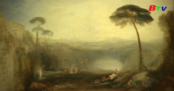 Pháp triển lãm các tác phẩm hội họa của họa sĩ  Turner