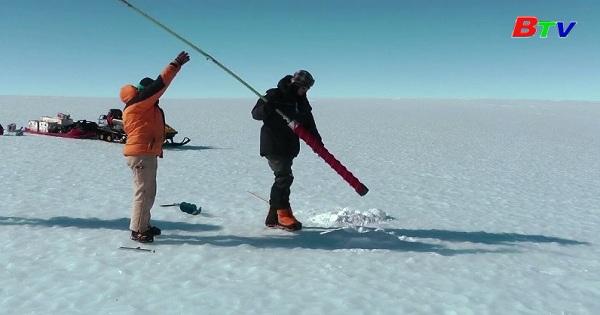 Báo động tình trạng nước biển dâng do băng tan
