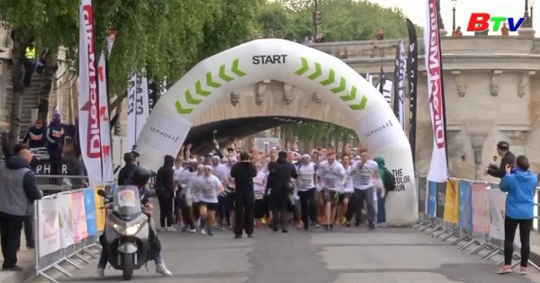 Cuộc đua Color Run ở Pháp