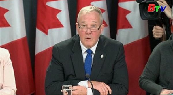 Canada công bố luật hợp pháp hóa cần sa