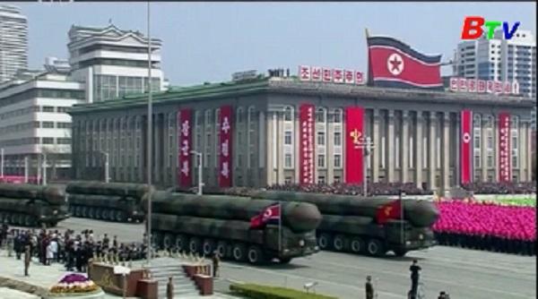 Triều Tiên diễu binh lớn nhất trong lịch sử