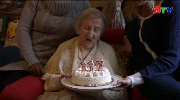 Người già nhất thế giới qua đời ở Italy