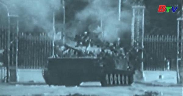 Thắng lợi của chiến dịch Hồ Chí Minh lịch sử giải phóng hoàn toàn miền Nam thống nhất đất nước