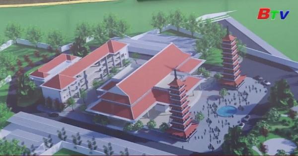 Động thổ khu hoa viên, dịch vụ nhà tang lễ tại phường Bình An, thị xã Dĩ An