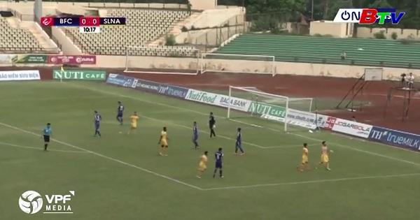 Vòng 14 Nuti Cafe V.League 2018: Becamex Bình Dương 1- 2 Sông Lam Nghệ An