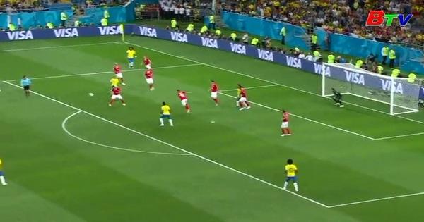 Bảng E - VCK World Cúp 2018: Brazil 1-1 Thụy Sỹ