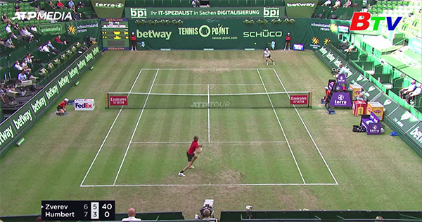 Alexander Zverev bị loại khỏi Halle mở rộng