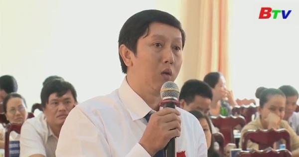 Khai mạc kỳ họp thú 7 - HĐND thị xã Thuận An khóa XI, nhiệm 2016-2021