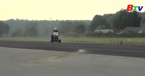 Những chiếc xe tự chế lập kỷ lục tốc độ thế giới