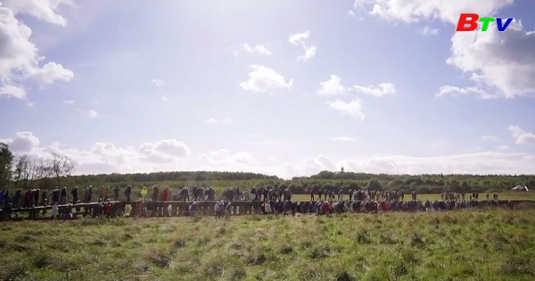 Đan Mạch hoàn thành cây cầu Viking dài nhất thế giới