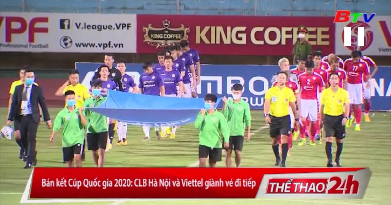 Bán kết Cúp Quốc gia 2020 - CLB Hà Nội và Viettel giành vé đi tiếp