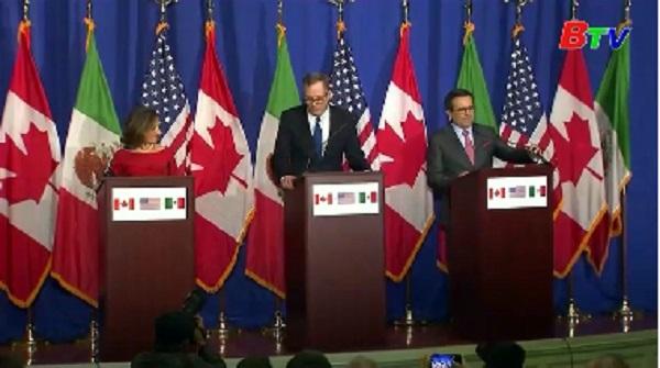 Tái đàm phán NAFTA gặp khó khăn