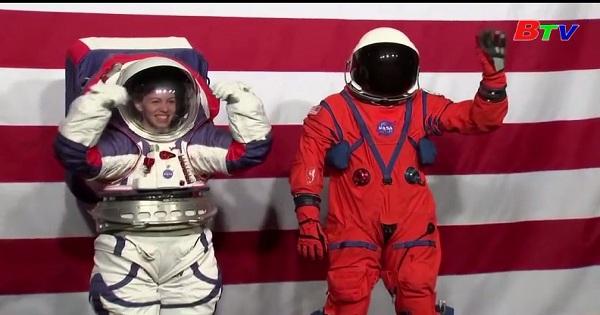 Mỹ - Nasa trình làng mẫu trang phục mới dành cho các phi hành gia