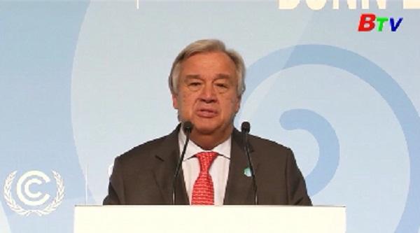 Lãnh đạo thế giới nhấn mạnh mối hiểm họa biến đổi khí hậu tại COP23