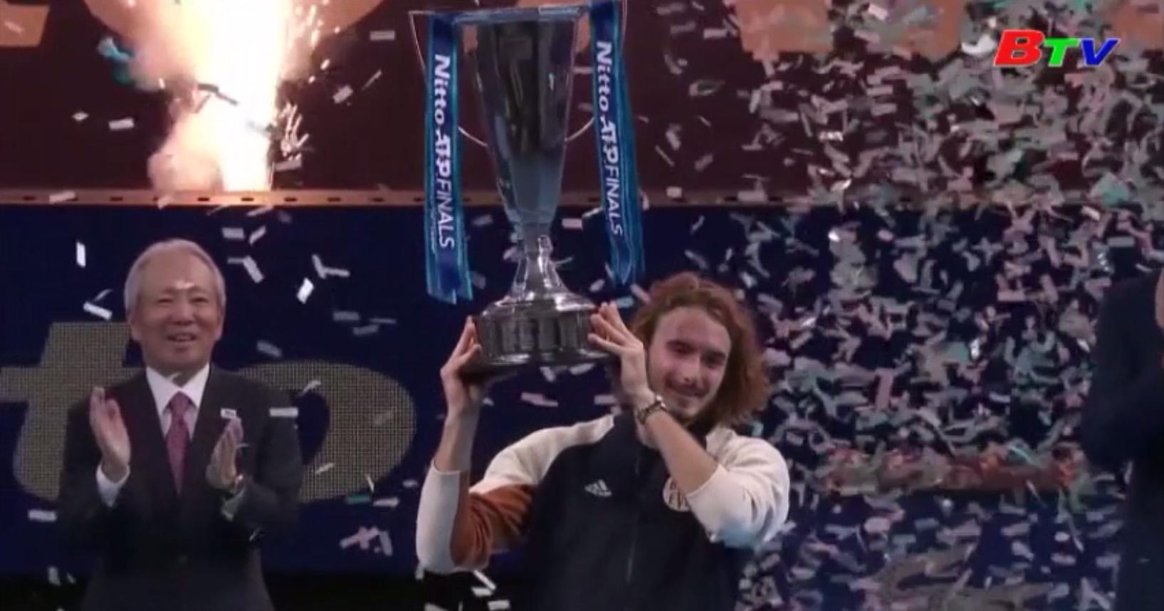 Kết thúc Giải quần vợt ATP Final 2019