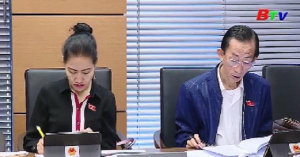 Quốc hội thảo luận về dự án luật phòng, chống thiên tai và luật đê điều