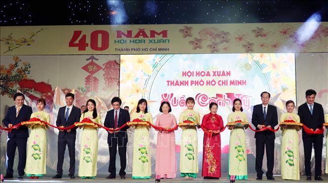 Khai hội Hoa xuân TP.HCM năm Canh Tý