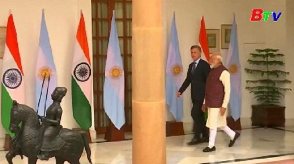 Ấn Độ-Argentina thảo luận quan hệ song phương
