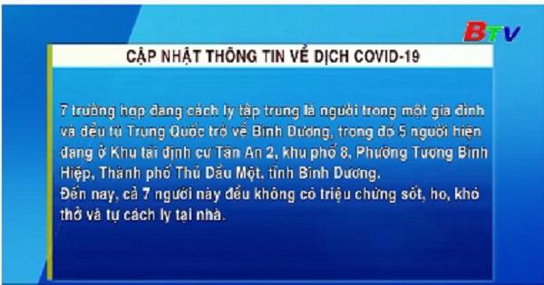 Thông tin về dịch COVID-19
