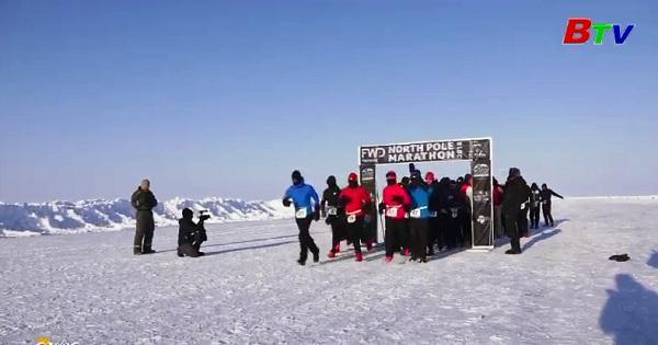 Cuộc đua Marathon chinh phục Bắc Cực