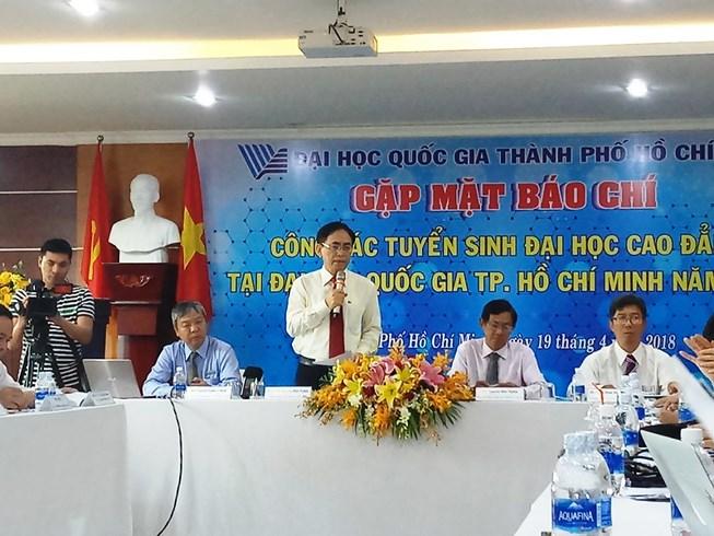 Năm đầu tiên Đại học Quốc gia Thành phố Hồ Chí Minh tuyển sinh bằng kỳ thi đánh giá năng lực