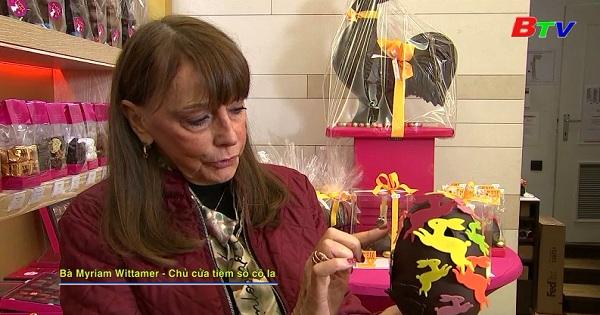 Nhà sản xuất Sô cô la Bỉ trình làng bộ sưu tập trứng phục sinh