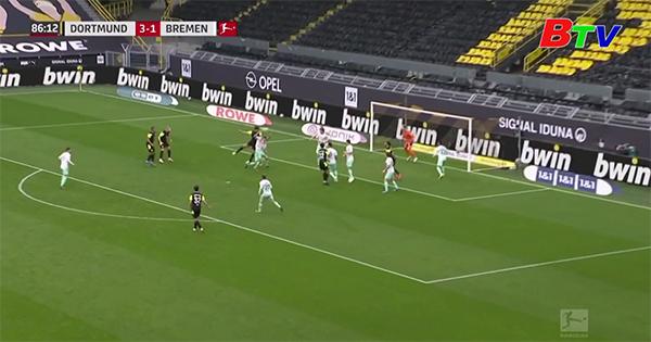 Vòng 29 Bundesliga – Dortmund 4-1 Bremen