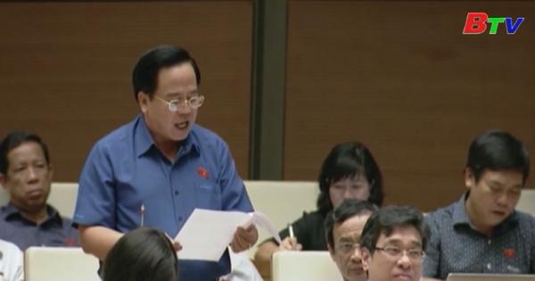 Quốc hội thảo luận Dự án Luật Quản lý nợ công  (sửa đổi)