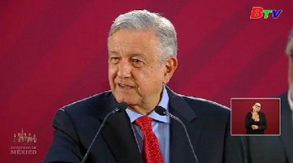 Tổng thống Mexico ấn định ngày trưng cầu ý dân về năng lực lãnh đạo