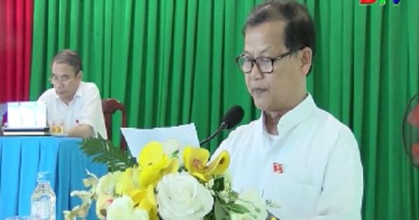 Đại biểu quốc hội tỉnh Bình Dương tiếp xúc cử tri huyện Bắc Tân Uyên