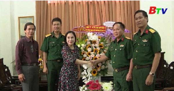 Các đơn vị thăm, chúc mừng Đài PTTH Bình Dương nhân kỷ niệm 95 năm Báo chí cách mạng Việt Nam