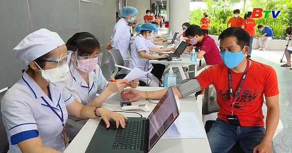 Thành phố Hồ Chí Minh khởi động tiêm vắc xin COVID-19 diện rộng