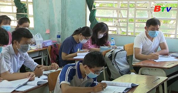 Bình Dương thực hiện tốt kỳ thi tốt nghiệp THPT năm 2021