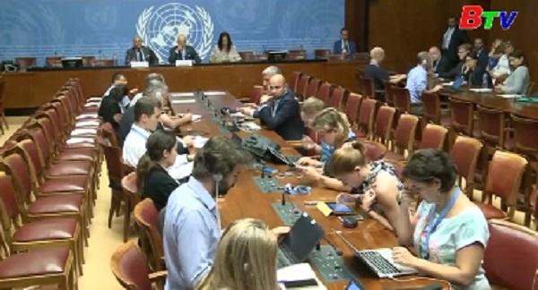 Hòa đàm Syria sẽ được nối lại vào tháng 9