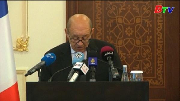 Pháp hối thúc các nước Arab dỡ bỏ lệnh trừng phạt Qatar