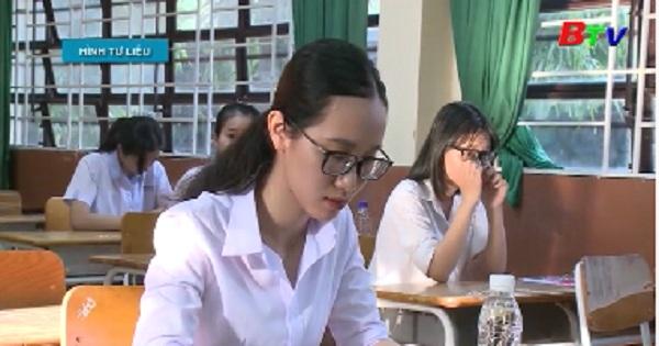 Bình Dương: 98,59% thí sinh tốt nghiệp PTTH