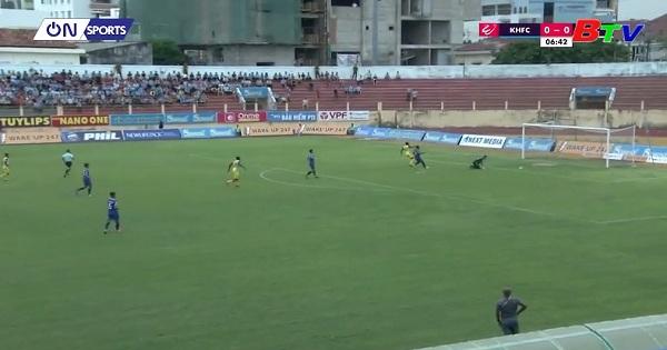 Vòng 16 V.League 2019: Khánh Hòa BVN 1- 0 B.Bình Dương