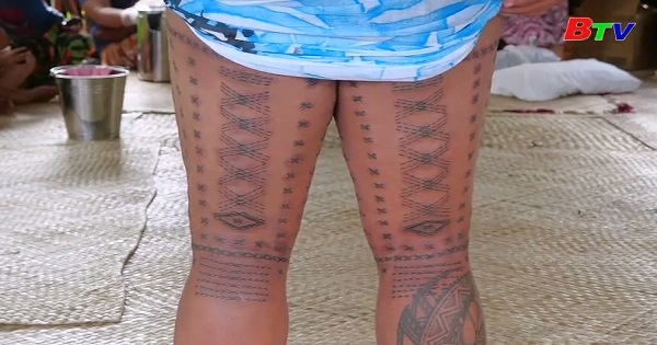Samoa: Xăm mình thể hiện tình yêu nước