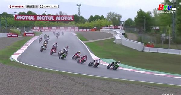 Tay đua Scott Redding chiến thắng vòng 1 tại Catalunya, Tây Ban Nha