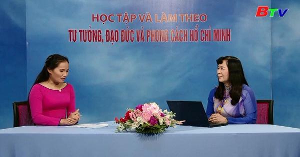 Chủ tịch Hồ Chí Minh nói về vai trò của phụ nữ