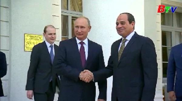 Ai Cập và Nga trở thành đối tác toàn diện