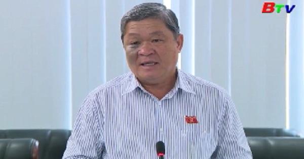 Thường trực UBND tỉnh họp nghe kết quả việc  giải quyết kiến nghị của cử tri