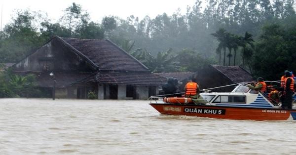 Nam Trung Bộ còn mưa lũ