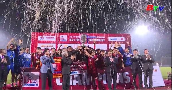 Kết thúc Giải bóng đá U21 quốc tế Báo thanh niên 2018